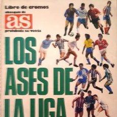 Álbum de fútbol completo: ALBUM DE CROMOS DE FUTBOL DE LOS ASES DE LA LIGA - 87 - 88 - COMPLETO -. Lote 137100274