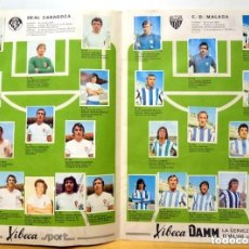 Álbum de fútbol completo: ALBUM 1973 74 XIBECA SPORT CERVEZA DAMM. COMPLETO. LIGA 73 74 Y MUNDIAL 74. PORTADA JOHAN CRUYFF. Lote 97230279