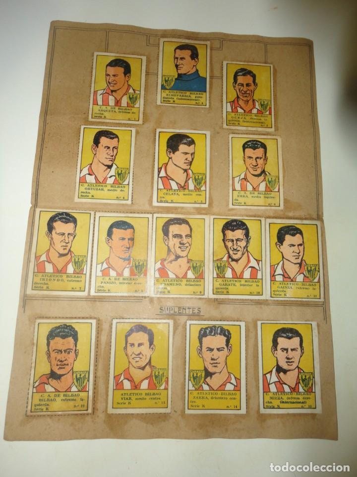 album de cromos de futbol editorial la valenciana 1941 completo atletico athletic club de bilbao segunda mano
