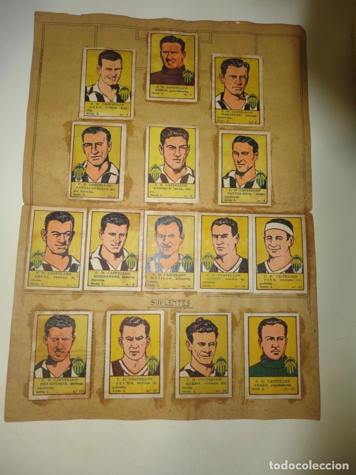 album de cromos de futbol editorial la valenciana 1941 completo cd castellon segunda mano