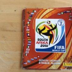 Álbum de fútbol completo: SUDÁFRICA 2010 ÁLBUM COMPLETO. Lote 137332994