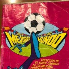 Álbum de fútbol completo: LOS MEJORES DEL MUNDO BOOMER COMPLETO. Lote 137334582