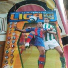 Álbum de fútbol completo: ALBUM COMPLETO EDICIONES ESTE 2005-06 SOLO FALTAN 2 COLOCAS LIGA ESTE 05-06. Lote 137546430