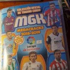 Complete Football Album: MEGACRACKS 2018-2019 COMPLETO. Lote 137659910