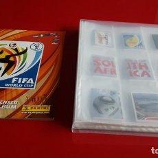 Álbum de fútbol completo: COLECCION COMPLETA MUNDIAL 2010 SUDAFRICA PANINI SIN PEGAR MAS ALBUM VACIO(C. RONALDO,MESSI...). Lote 194733827