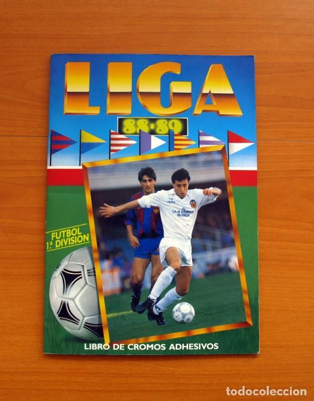 ÁLBUM COMPLETO - LIGA 1988-1989, 88-89 - EDICIONES ESTE (Coleccionismo Deportivo - Álbumes y Cromos de Deportes - Álbumes de Fútbol Completos)