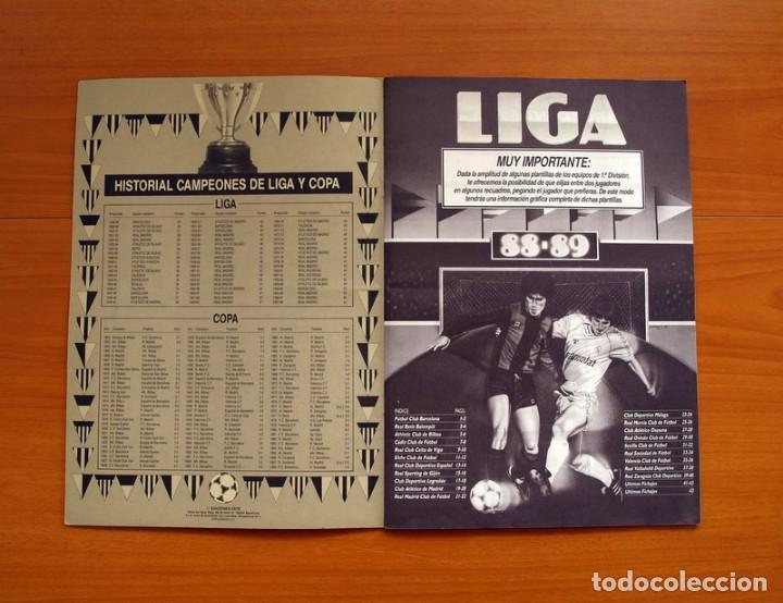 Álbum de fútbol completo: Álbum Completo - Liga 1988-1989, 88-89 - Ediciones Este - Foto 2 - 137971566