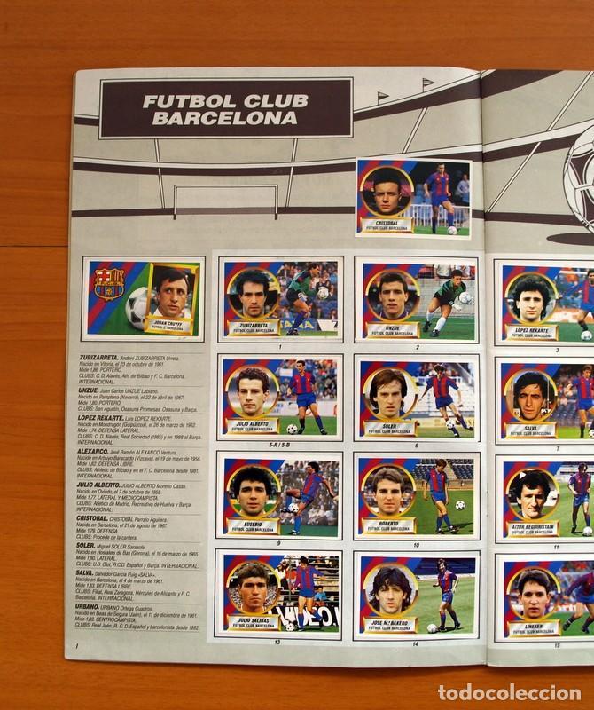 Álbum de fútbol completo: Álbum Completo - Liga 1988-1989, 88-89 - Ediciones Este - Foto 3 - 137971566