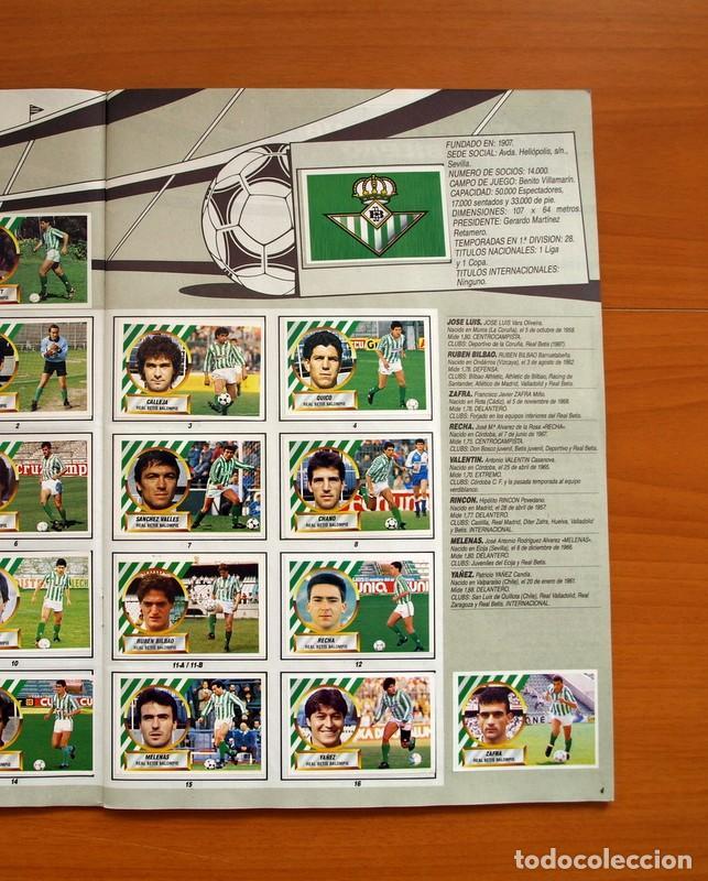 Álbum de fútbol completo: Álbum Completo - Liga 1988-1989, 88-89 - Ediciones Este - Foto 6 - 137971566