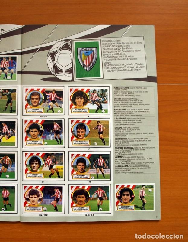 Álbum de fútbol completo: Álbum Completo - Liga 1988-1989, 88-89 - Ediciones Este - Foto 8 - 137971566