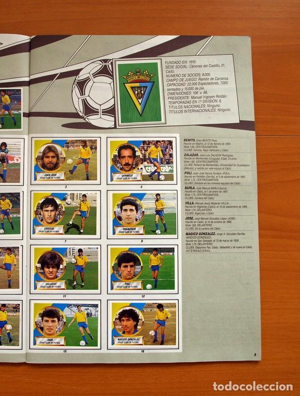Álbum de fútbol completo: Álbum Completo - Liga 1988-1989, 88-89 - Ediciones Este - Foto 10 - 137971566