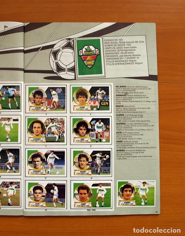 Álbum de fútbol completo: Álbum Completo - Liga 1988-1989, 88-89 - Ediciones Este - Foto 14 - 137971566