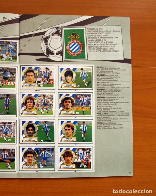 Álbum de fútbol completo: Álbum Completo - Liga 1988-1989, 88-89 - Ediciones Este - Foto 16 - 137971566