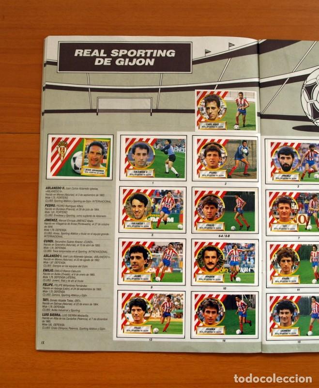 Álbum de fútbol completo: Álbum Completo - Liga 1988-1989, 88-89 - Ediciones Este - Foto 17 - 137971566