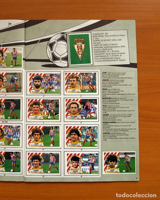 Álbum de fútbol completo: Álbum Completo - Liga 1988-1989, 88-89 - Ediciones Este - Foto 18 - 137971566
