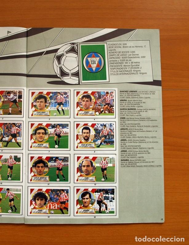 Álbum de fútbol completo: Álbum Completo - Liga 1988-1989, 88-89 - Ediciones Este - Foto 20 - 137971566