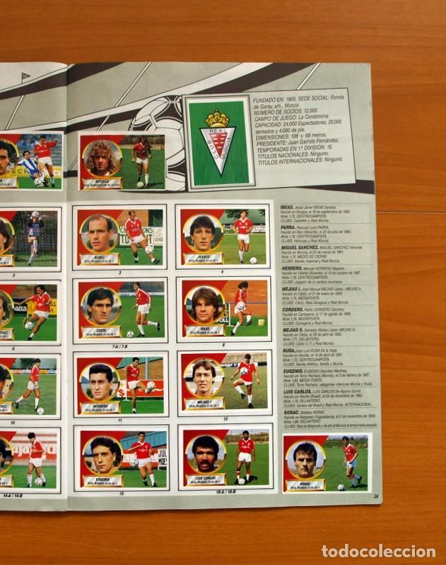 Álbum de fútbol completo: Álbum Completo - Liga 1988-1989, 88-89 - Ediciones Este - Foto 28 - 137971566