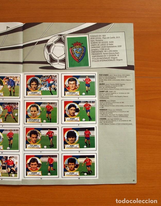 Álbum de fútbol completo: Álbum Completo - Liga 1988-1989, 88-89 - Ediciones Este - Foto 30 - 137971566