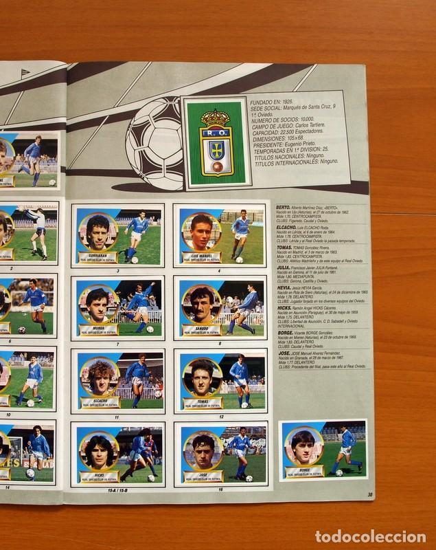 Álbum de fútbol completo: Álbum Completo - Liga 1988-1989, 88-89 - Ediciones Este - Foto 32 - 137971566