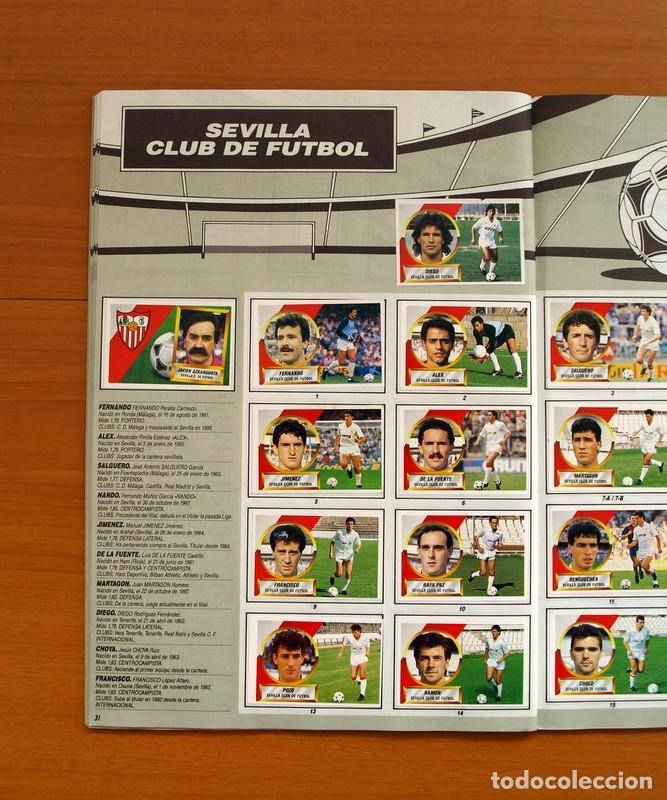 Álbum de fútbol completo: Álbum Completo - Liga 1988-1989, 88-89 - Ediciones Este - Foto 33 - 137971566