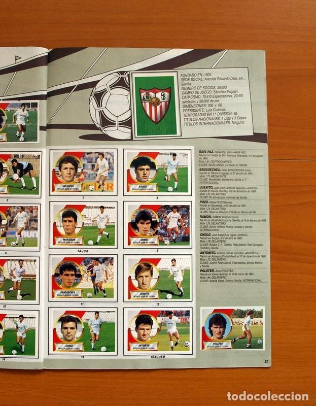 Álbum de fútbol completo: Álbum Completo - Liga 1988-1989, 88-89 - Ediciones Este - Foto 34 - 137971566