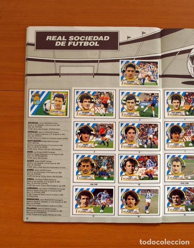 Álbum de fútbol completo: Álbum Completo - Liga 1988-1989, 88-89 - Ediciones Este - Foto 35 - 137971566