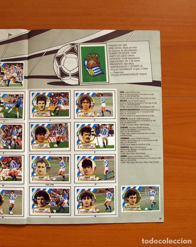 Álbum de fútbol completo: Álbum Completo - Liga 1988-1989, 88-89 - Ediciones Este - Foto 36 - 137971566