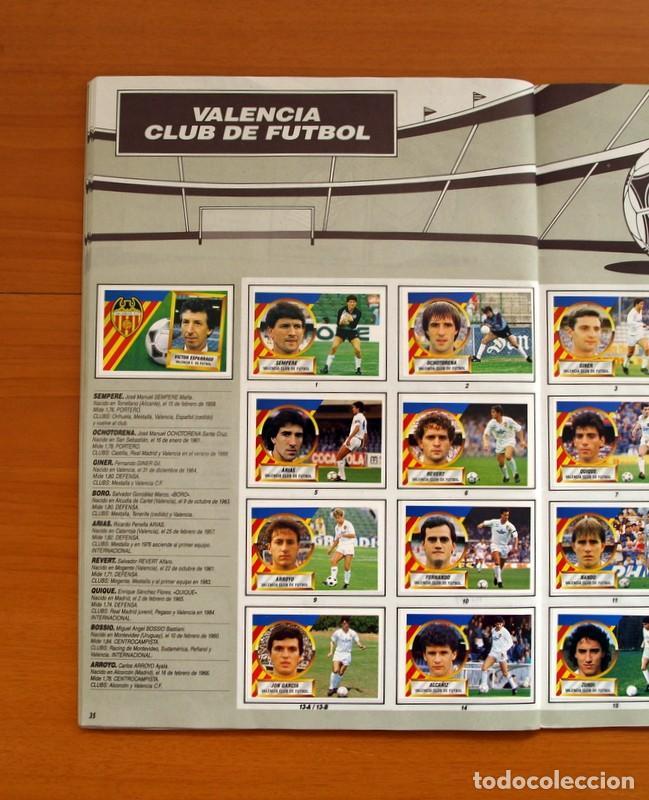 Álbum de fútbol completo: Álbum Completo - Liga 1988-1989, 88-89 - Ediciones Este - Foto 37 - 137971566