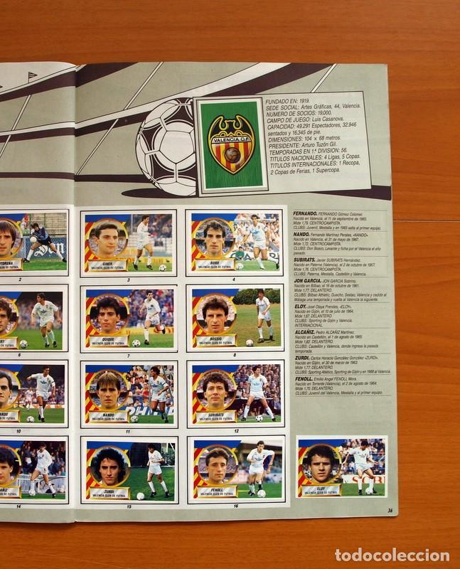 Álbum de fútbol completo: Álbum Completo - Liga 1988-1989, 88-89 - Ediciones Este - Foto 38 - 137971566