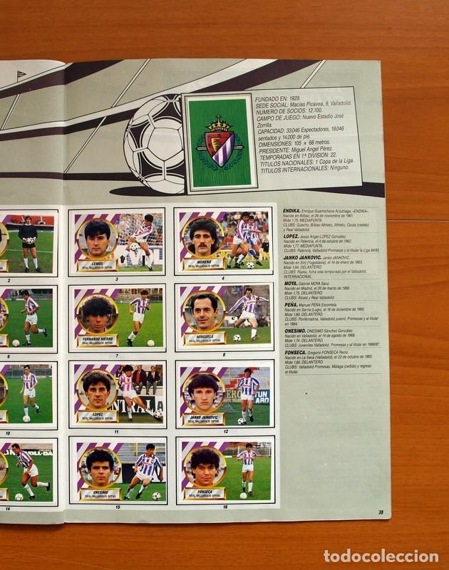 Álbum de fútbol completo: Álbum Completo - Liga 1988-1989, 88-89 - Ediciones Este - Foto 40 - 137971566