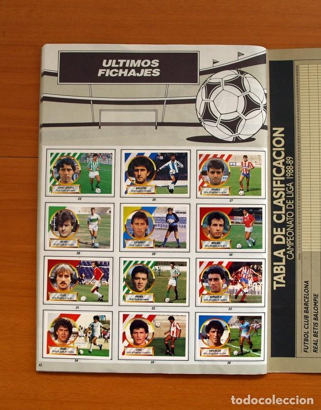 Álbum de fútbol completo: Álbum Completo - Liga 1988-1989, 88-89 - Ediciones Este - Foto 45 - 137971566