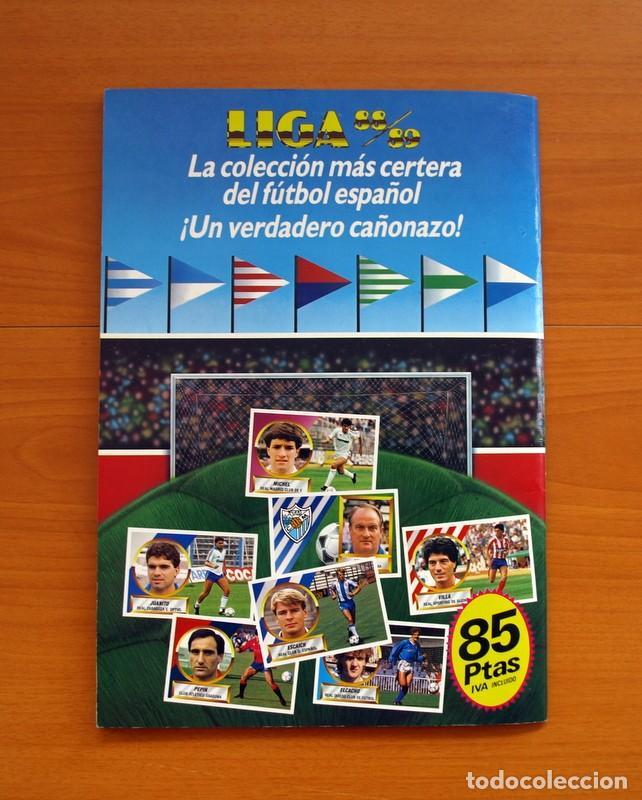Álbum de fútbol completo: Álbum Completo - Liga 1988-1989, 88-89 - Ediciones Este - Foto 47 - 137971566