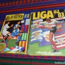 Álbum de fútbol completo: ESTE LIGA 1982 1983 82 83 COMPLETO DON DOBLES SIN PEGAR Y ESTE LIGA 95 96 1995 1996 COMPLETO.. Lote 138000486