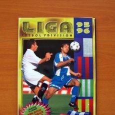 Álbum de fútbol completo: ÁLBUM - LIGA 1995-1996, 95-96 - EDICIONES ESTE - COMPLETO, VER FOTOS Y EXPLICACIÓN INTERIOR. Lote 138088842