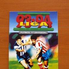 Album de football complet: ÁLBUM LIGA 1993-1994, 93-94 - EDICIONES ESTE - COMPLETO - VER FOTOS Y EXPLICACIONES INTERIORES. Lote 138090634