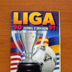 Álbum de fútbol completo: ÁLBUM LIGA 1990-1991, 90-91 - EDICIONES ESTE - COMPLETO - VER FOTOS Y EXPLICACIONES INTERIORES. Lote 138094566