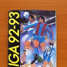 Álbum de fútbol completo: ÁLBUM LIGA 1992-1993, 92-93 - EDICIONES ESTE - COMPLETO - VER FOTOS Y EXPLICACIONES INTERIORES. Lote 138095734
