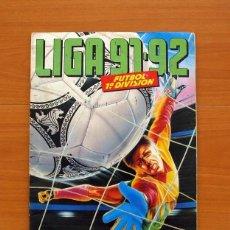 Álbum de fútbol completo: ÁLBUM LIGA 1991-1992, 91-92 - EDICIONES ESTE - COMPLETO - VER FOTOS Y EXPLICACIONES INTERIORES. Lote 138096966