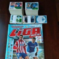 Álbum de fútbol completo: COLECCION COMPLETA CROMOS SIN PEGAR + ALBUM PLANCHA EDICIONES ESTE LIGA 14 15 2014 2015 , 682 CROMOS. Lote 139021890