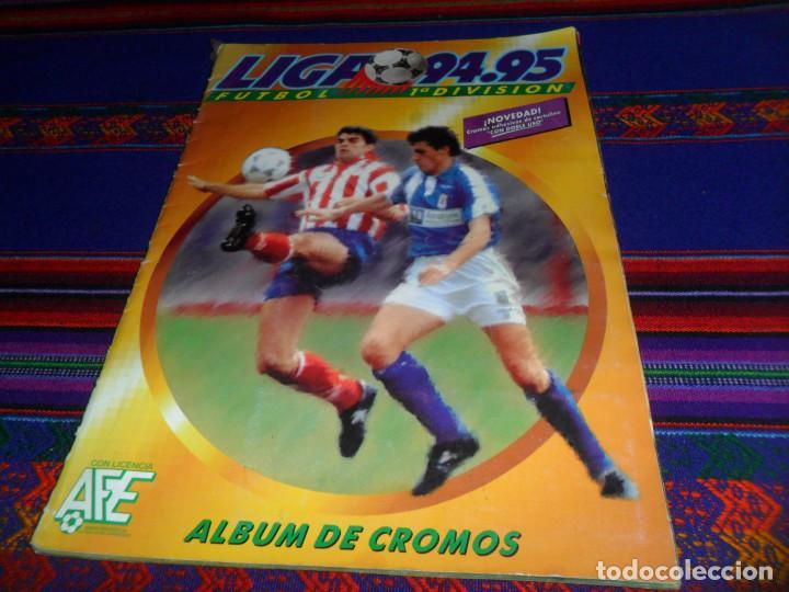 ESTE LIGA 1994 1995 94 95 COMPLETO EN BUEN ESTADO. REGALO ESTE LIGA 2011 2012 11 12 INCOMPLETO. (Coleccionismo Deportivo - Álbumes y Cromos de Deportes - Álbumes de Fútbol Completos)