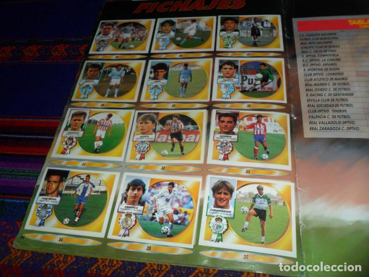 Álbum de fútbol completo: ESTE LIGA 1994 1995 94 95 COMPLETO EN BUEN ESTADO. REGALO ESTE LIGA 2011 2012 11 12 INCOMPLETO. - Foto 24 - 139040734