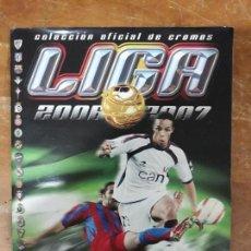 Álbum de fútbol completo: ÁLBUM CROMOS DE FÚTBOL LIGA 2006/2007 - EDICIONES ESTE- SCHUSTER COLOCAS DOBLES. Lote 139097390
