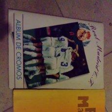 Álbum de fútbol completo: ALBUNES REAL MADRID. Lote 139486118