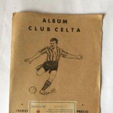 Álbum de fútbol completo: ALBUM CLUB CELTA. COMPLETO 15 CROMOS JUGADORES. AÑO 1941-42. ED. VALENCIANA.. Lote 139578302