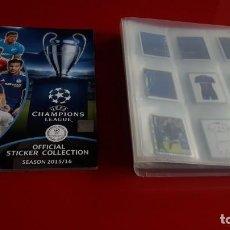 Álbum de fútbol completo: COLECCION COMPLETA CHAMPIONS LEAGUE 2015 2016- 15 16 TOPPS SIN PEGAR MAS ALBUM VACIO(MESSI...). Lote 194733858