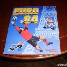 Álbum de fútbol completo: ALBUM CROMOS PANINI COMPLETO EURO 84 EUROCOPA 1984 ¡¡ DIN DON DIN DON !! MATERIAL DE PRIMERA!. Lote 140036410