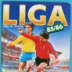 Álbum de fútbol completo: ALBUM FUTBOL , LIGA 1985 1986 85 86 , ESTE COMPLETO , ORIGINAL , X2. Lote 140176774