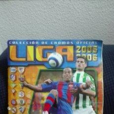 Álbum de fútbol completo: ALBUM TOTALMENTE COMPLETO EDICIONES ESTE LIGA 2005 2006. Lote 140338274