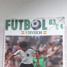 Álbum de fútbol completo: ALBUM COMPLETO FUTBOL 83/84 ED CANO. Lote 140483558