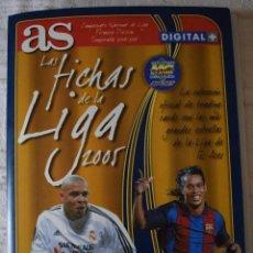 Álbum de fútbol completo: ALBUM COMPLETO FUTBOL LAS FICHAS DE LA LIGA 2005 MUNDI CROMO, AS. TEMPORADA 2004-2005 , 246 FICHAS. Lote 152237324